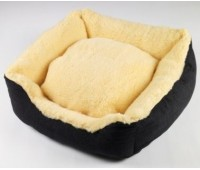 Senior Gold Sheepy Dog Bed - Small